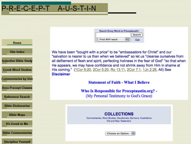 precept austin bible commentaries