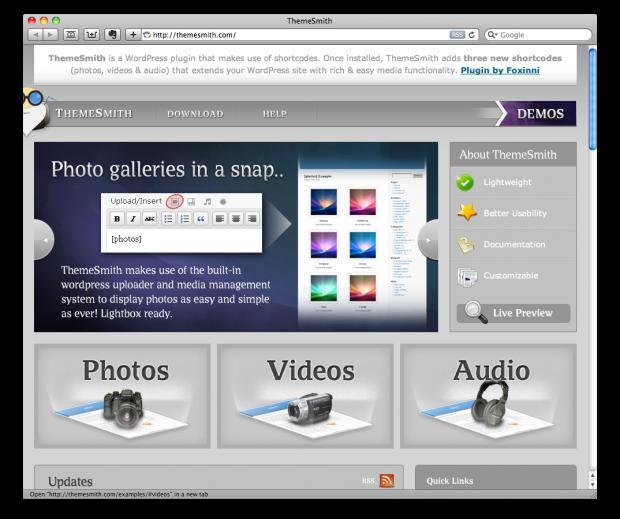 ThemeSmith: Audio, Video, Images WordPress Plugin - ChurchMag
