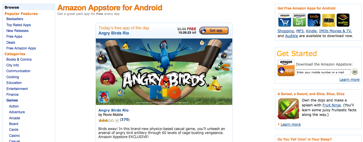Amazon app store download for android mobile | Amazon
