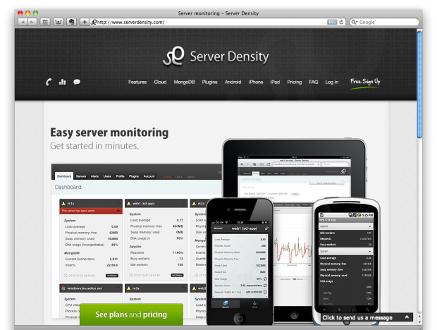 Use Server Density to Monitor Your Sites - ChurchMag