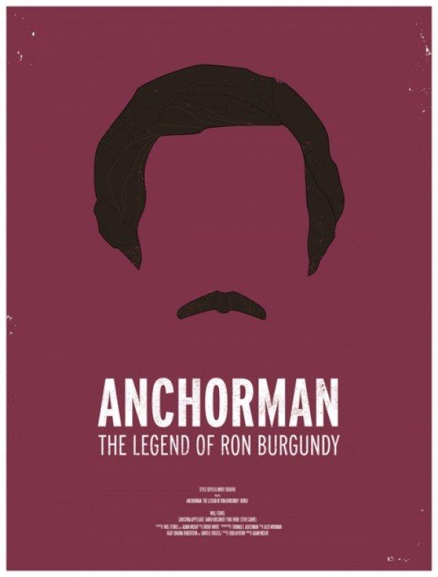 Anchorman Minimalist Poster