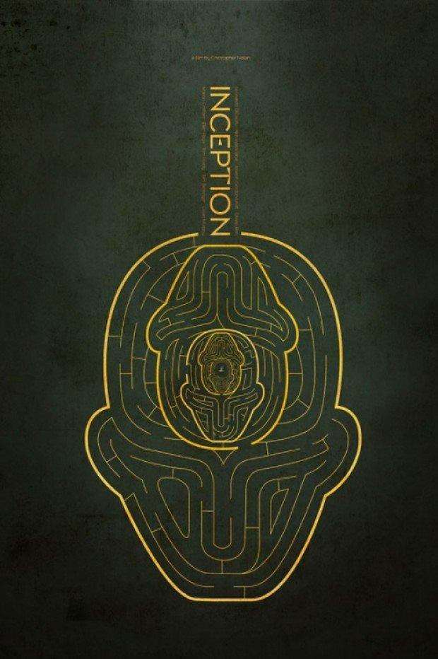 Inception Minimalist Poster