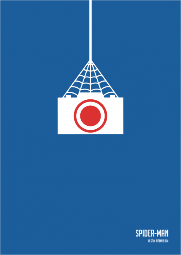 Spiderman Minimalist Poster
