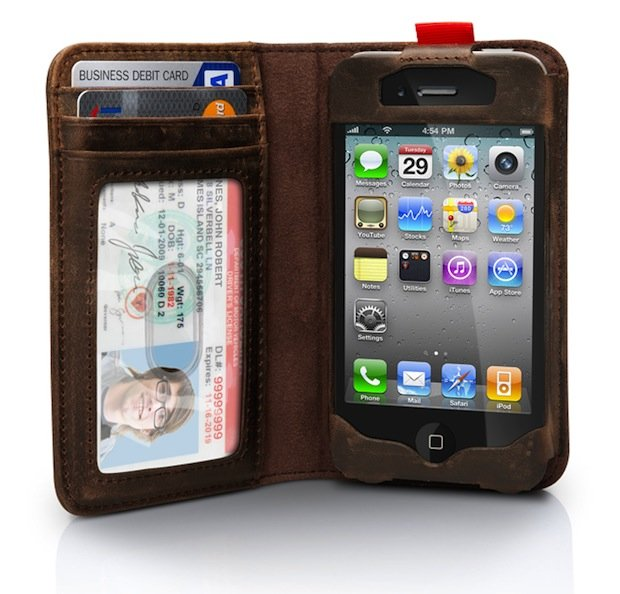 IPhone Case & Wallet Disguised As A Book