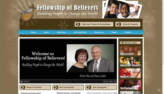 church, website, fellowship of believers