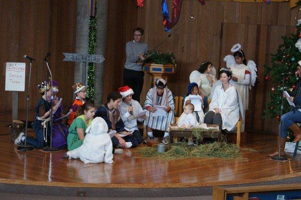 Small church christmas programs for pinterest