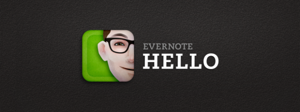 evernote hello app