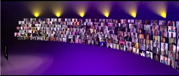 World's First Virtual Christmas Choir