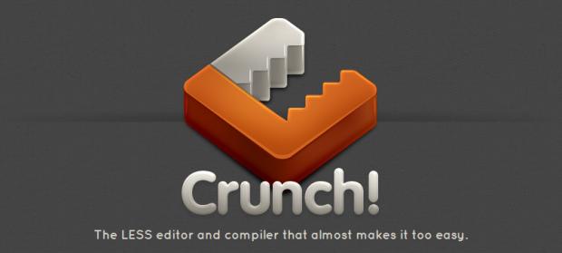 crunch css less editor compiler