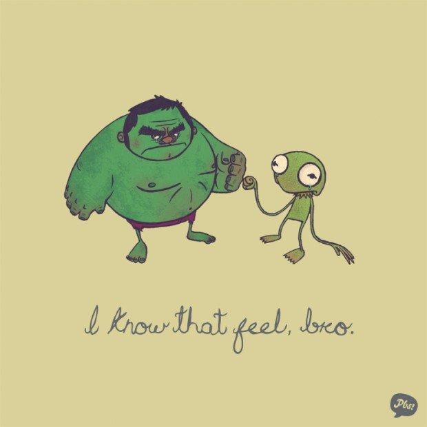 hulk kermit the frog green