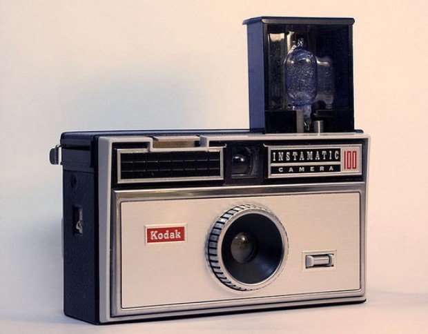 retro vintage kodak instamatic 100