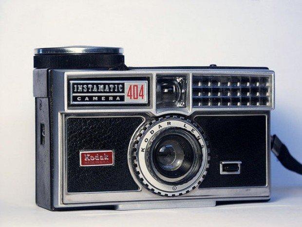 retro vintage kodak instamatic 404