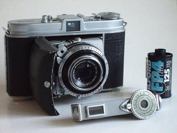 retro vintage kodak retina camera