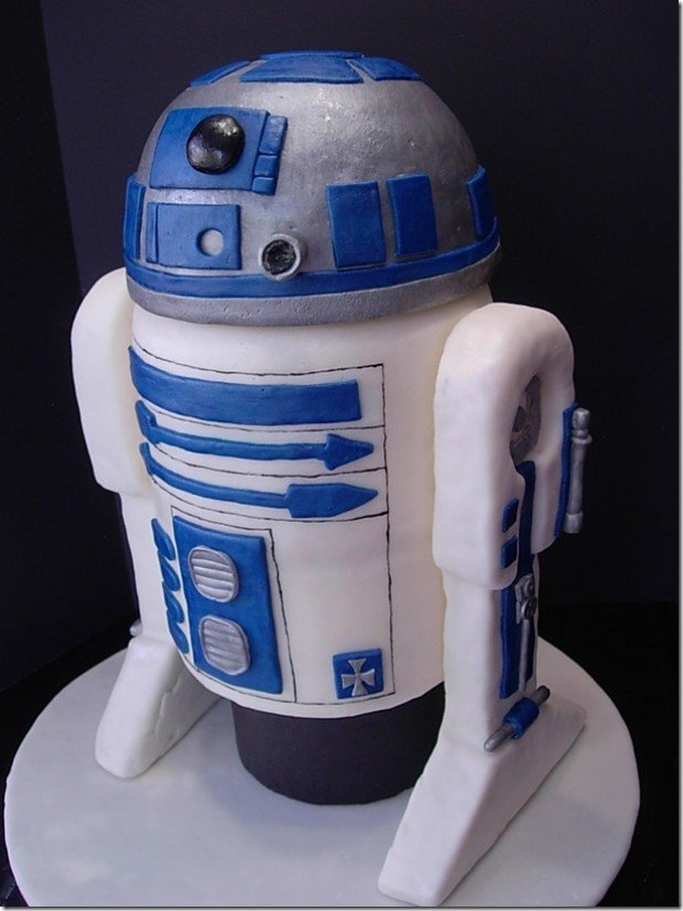 star wars r2-d2 cake