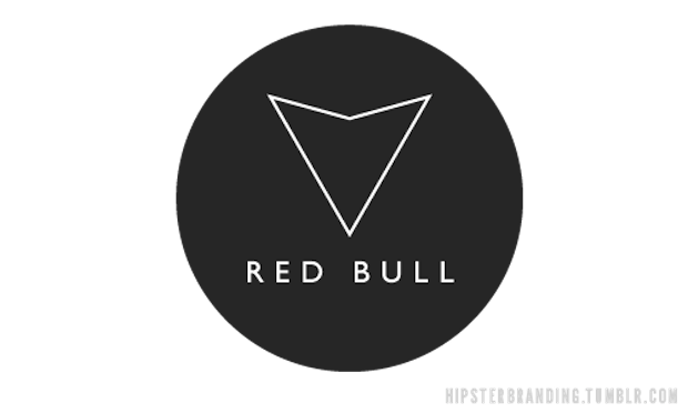 hipster red bull