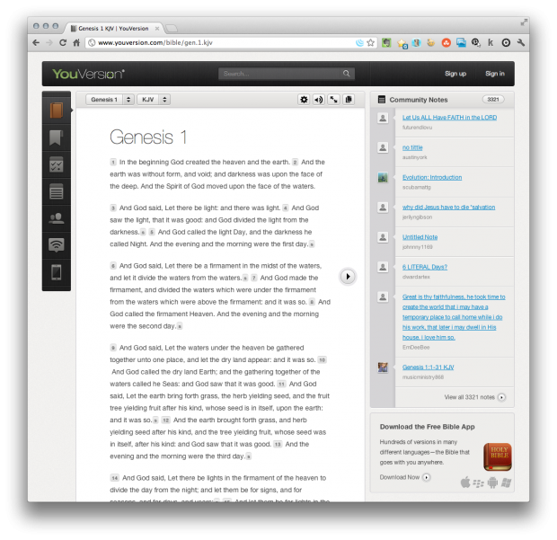 youversion online bible