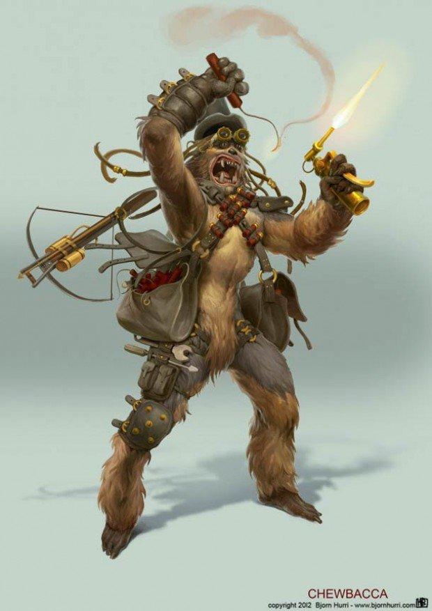 steampunk-star-wars-chewbacca