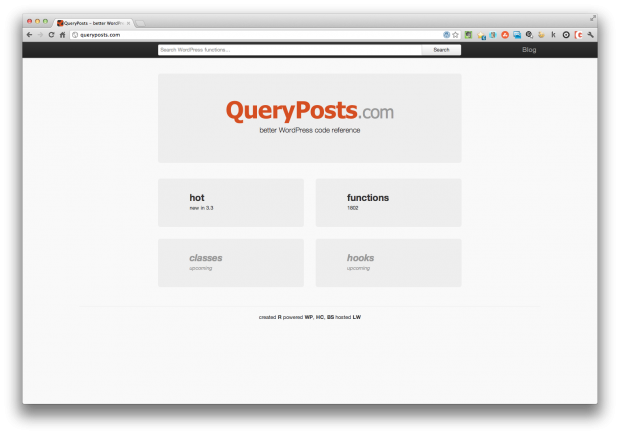 wordpress query posts