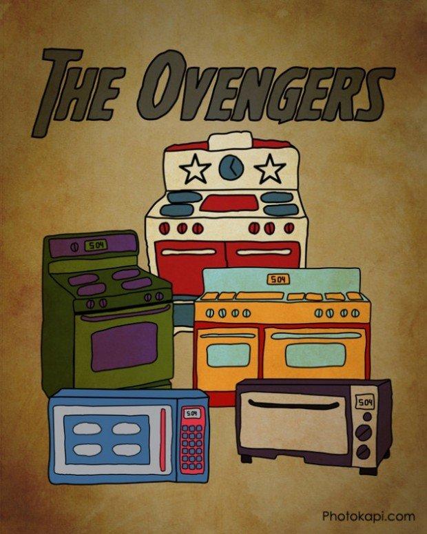 The Avengers Ovengers