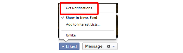 Facebook get Page Post notifications (ChurchMag)