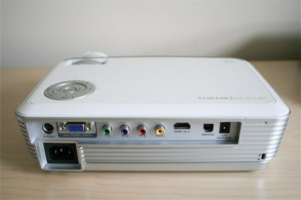 hook up projector to computer We have a user with a lenovo thinkpad edge - win7 - and the option to connect to a projector is not appearing anywhere all other users of this type of laptop have the option.