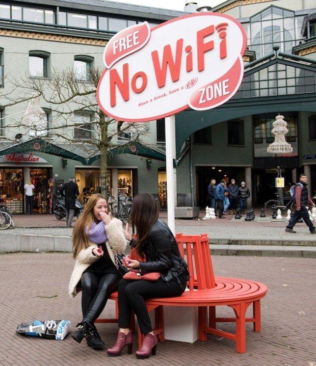 kit kat no wifi zone