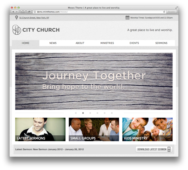 Premium Church WordPress Themes