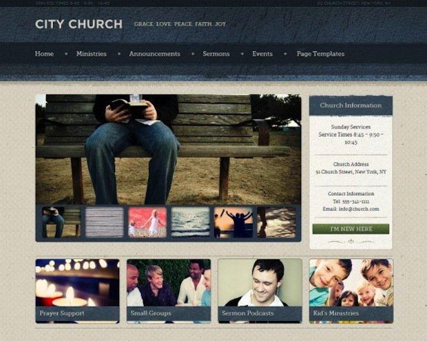6 Church WP Theme