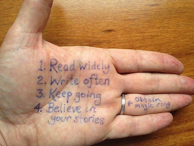 Advice on writing a blog 2013