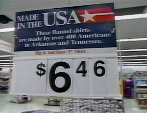 Made in the USA at Walmart