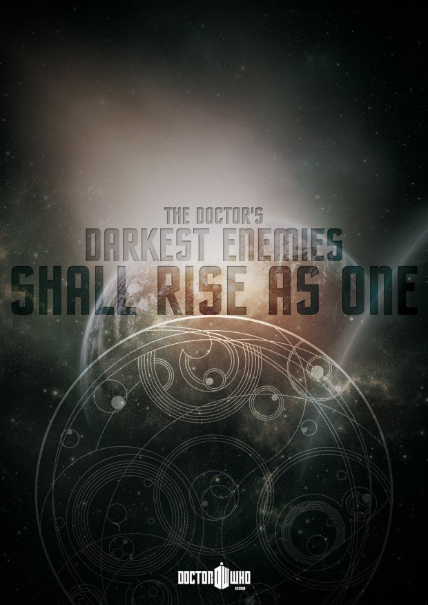 Doctor Who Poster - darkest enemies
