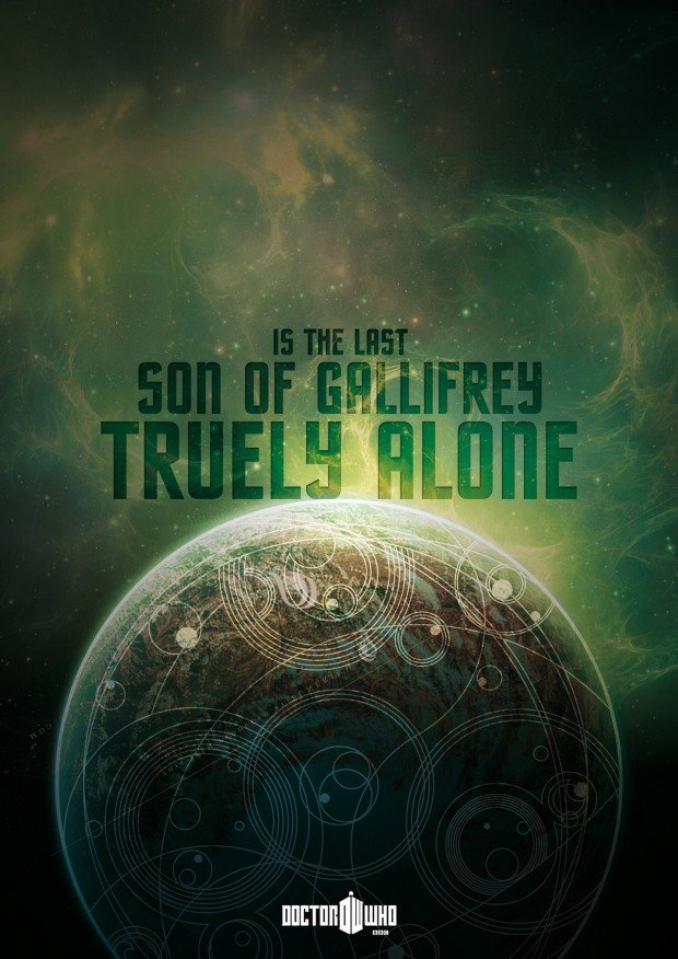 Doctor Who Poster - truly alone