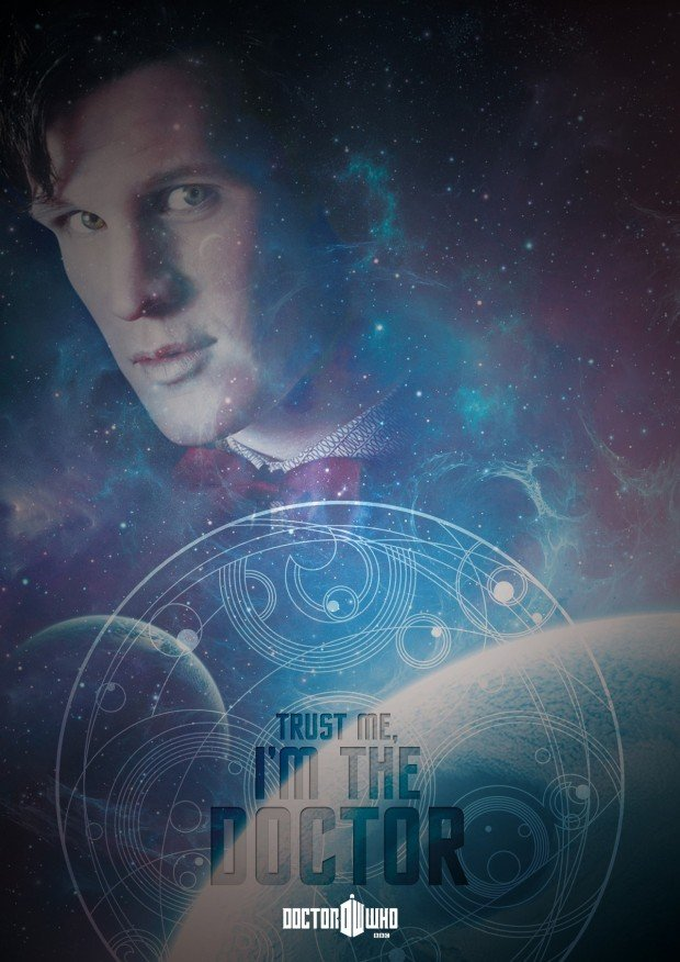 Doctor Who Poster - trust me im the doctor