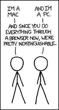 Mac vs PC Comic