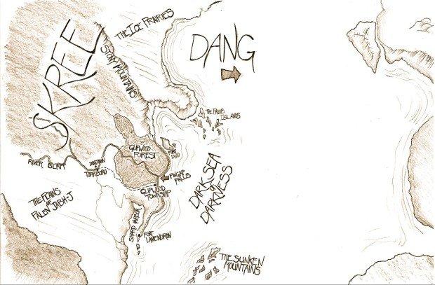 Wingfeather Saga Map 1