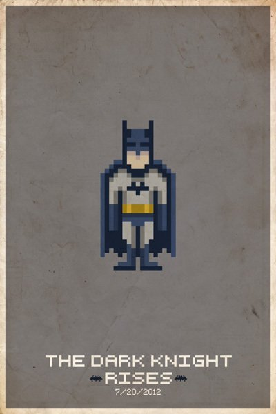 8Bit Heros - Batman