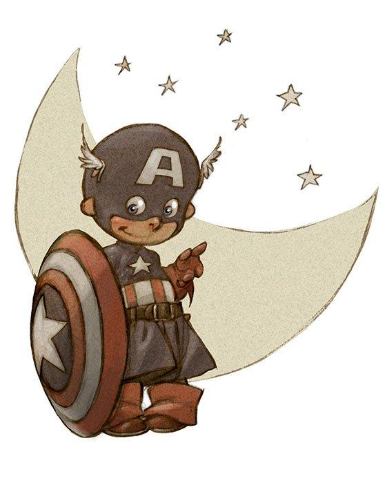 Little-Superheroes-Captain-America