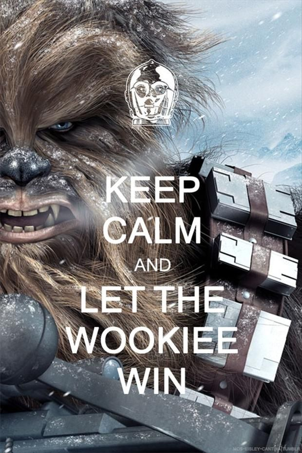 SW Keep Calm And - Chewie