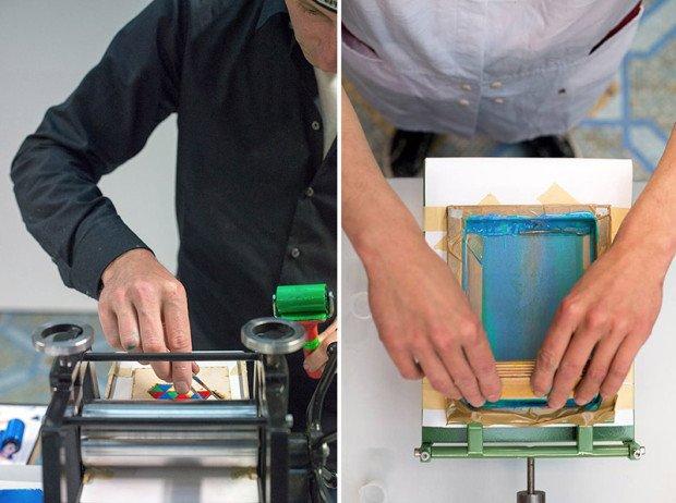 Miniature Printing Press