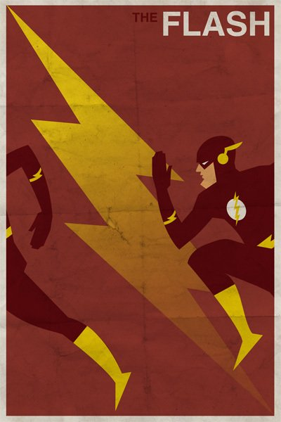 vintage dc - flash