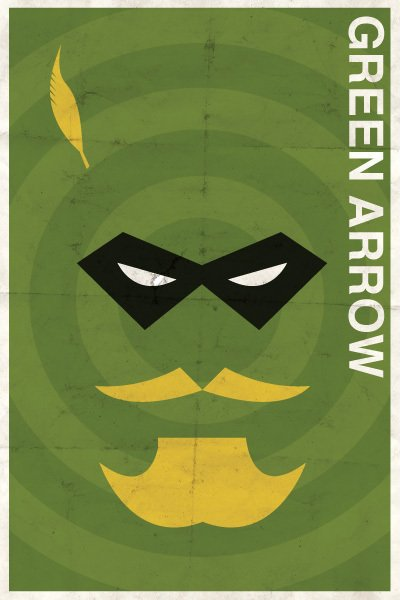 vintage dc - green arrow