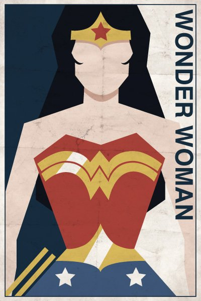 vintage dc - wonder woman