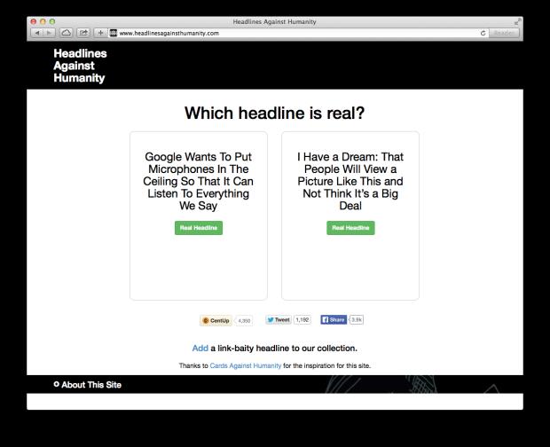 Link Bait Screenshot