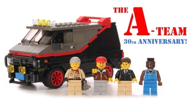 a-team lego 30th anni