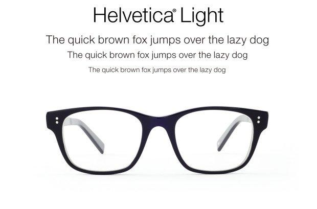 Eyeglass Frame Types : Eyeglass Frames Styled After Font Types - ChurchMag