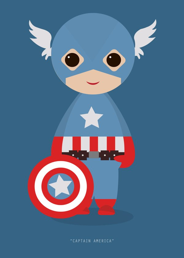 Little Avengers Captain