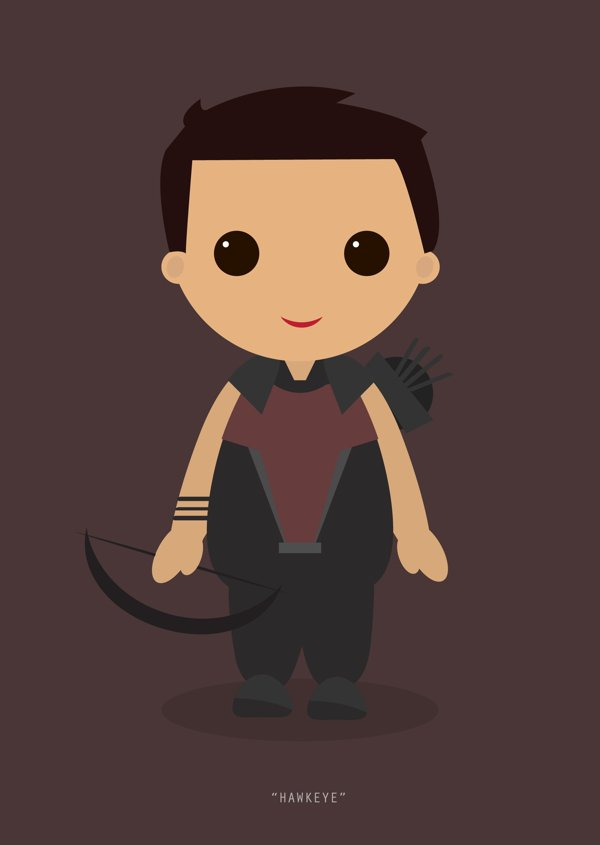 Little Avengers Hawkeye