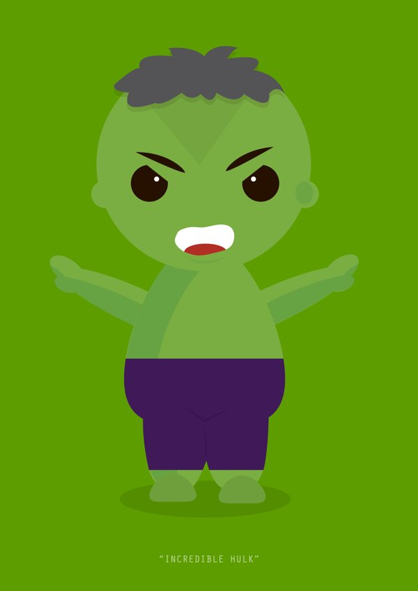 Little Avengers Hulk