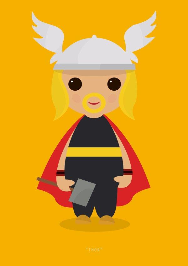 Little Avengers Thor