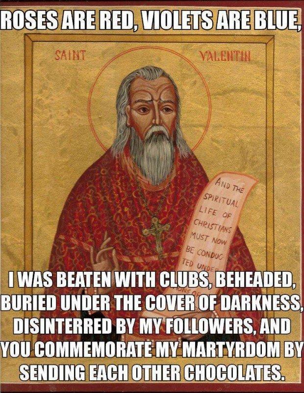 Saint Valentine Meme